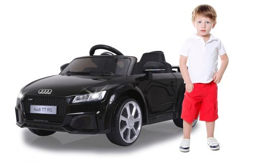 Ride-on Audi TT RS schwarz 12V