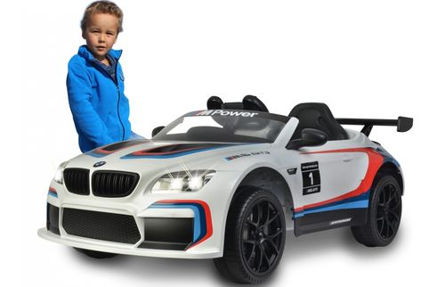 Ride-on BMW M6 GT3 weiß