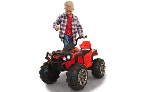 Ride-on Quad Protector grün 12V