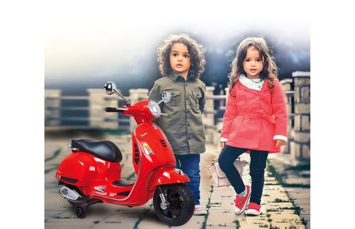 Ride-on Vespa GTS 125 rot 12V